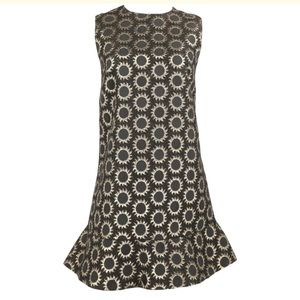 RED Valentino Sun Tattoo Jacquard Dress NWT